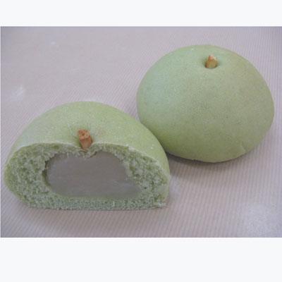 とうふの梨あんぱん使用